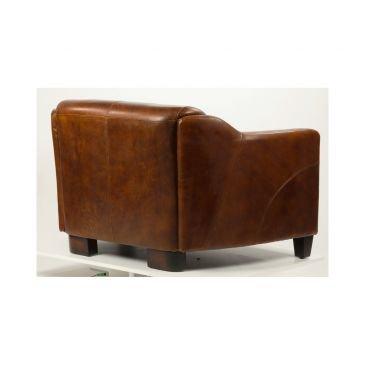 Canapé en cuir cigare 2 places Milord Vintage | Cosy Home Design