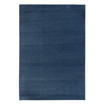 Tapis Monica en Polyester Doux Bleu Roi  | ZeWebMarket.com