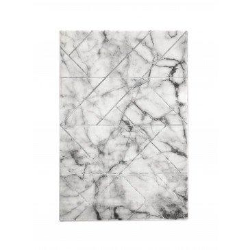 Tapis Dolom Gris Motifs Marbre Effet 3D  | ZeWebMarket.com