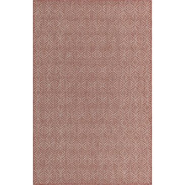 Tapis d'Extérieur Cueto Rouge Résistant aux UV  | ZeWebMarket.com