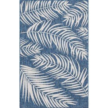 Tapis d'Extérieur Sagua Bleu Résistant aux UV  | ZeWebMarket.com