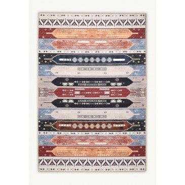 Tapis Borki Lavable en Machine Imprimés Numériques 6  | ZeWebMarket.com