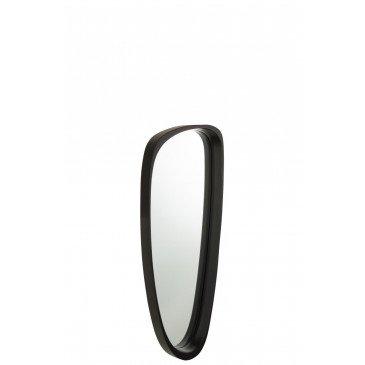 Miroir Giles MDF Verre Noir Long  | cosy-home-design.fr