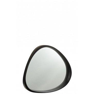 Miroir Giles MDF Verre Noir Small  | cosy-home-design.fr