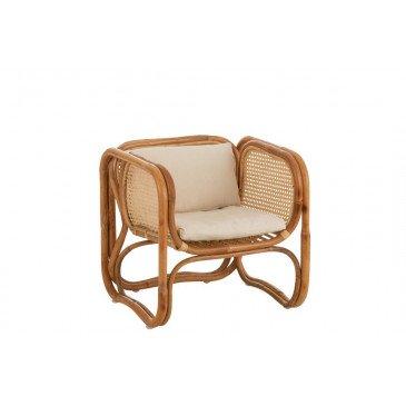 Chaise Enfant Ozara Rotin Naturel  | cosy-home-design.fr