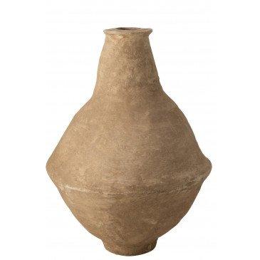 Vase Extra Large Chad Papier Mâché Marron  | cosy-home-design.fr