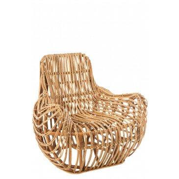 Fauteuil Ana Rotin Naturel  | cosy-home-design.fr