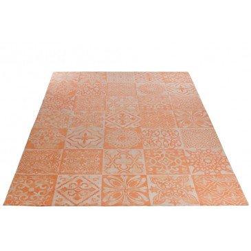 Tapis Chenille Coton Corail 200X300 cm  | cosy-home-design.fr