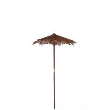 Parasol Feuilles de Cocotier Marron Small  | cosy-home-design.fr