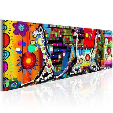 Tableau Colourful Savannah  | cosy-home-design.fr