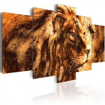 Tableau Beautiful Lion  | cosy-home-design.fr