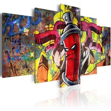 Tableau Angry spray can    cosy-home-design.fr