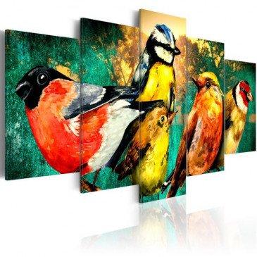 Tableau Birds Meeting  | cosy-home-design.fr
