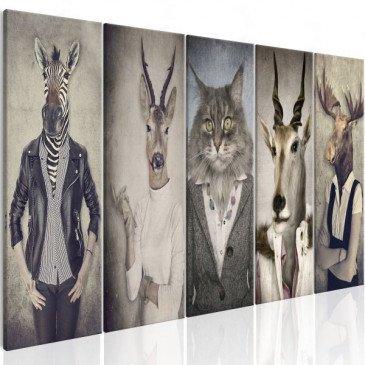 Tableau Animal Masks I    cosy-home-design.fr