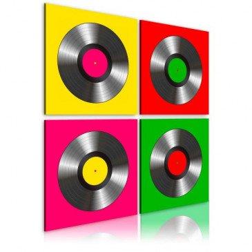 Tableau Vinyles Pop art    cosy-home-design.fr