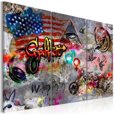 Tableau American Graffiti    cosy-home-design.fr