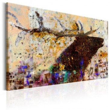 Tableau Golden Stag  | cosy-home-design.fr