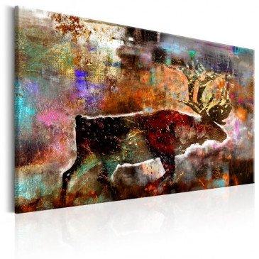 Tableau Colourful Caribou  | cosy-home-design.fr