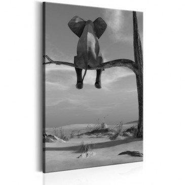 Tableau Resting Elephant  | cosy-home-design.fr