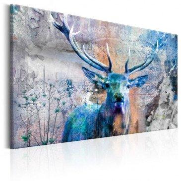 Tableau Blue Deer  | cosy-home-design.fr