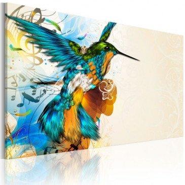 Tableau Bird's music  | cosy-home-design.fr