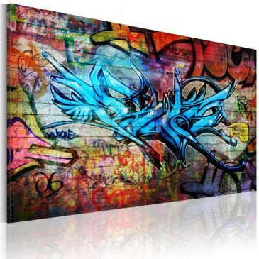 Tableau Anonymous graffiti  | cosy-home-design.fr