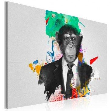 Tableau Mr Monkey  | cosy-home-design.fr