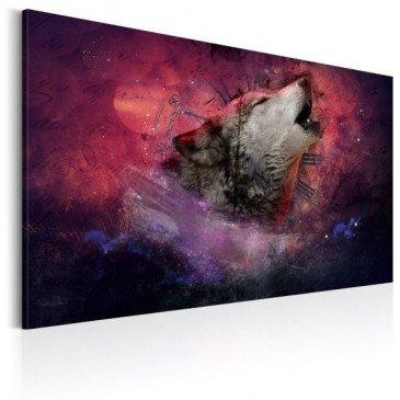 Tableau Temps des loups  | cosy-home-design.fr