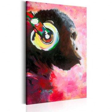 Tableau Monkey Music  | cosy-home-design.fr