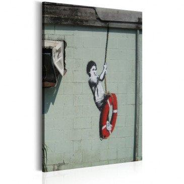 Tableau Swinger, New Orleans - Banksy    cosy-home-design.fr