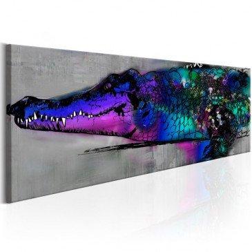 Tableau Blue Alligator  | cosy-home-design.fr