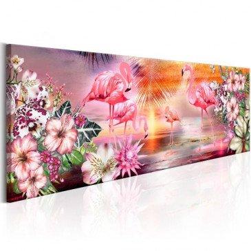 Tableau Flamingoes Land  | cosy-home-design.fr
