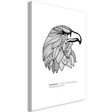 Tableau Eagle of Freedom 1 Pièce Vertical  | cosy-home-design.fr