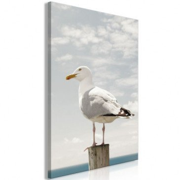 Tableau Seagull 1 Pièce Vertical  | cosy-home-design.fr