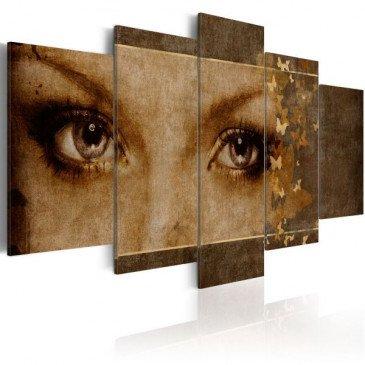Tableau Yeux comme des papillons  | cosy-home-design.fr