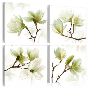 Tableau Admiration of Magnolia  | cosy-home-design.fr