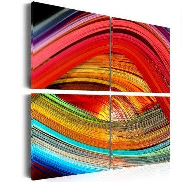 Tableau Abîme coloré  | cosy-home-design.fr