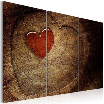 Tableau Ancien amour ne rouille pas - 3 pièces  | cosy-home-design.fr