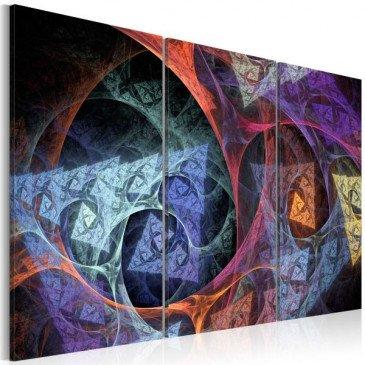 Tableau Abstraction de différentes couleurs  | cosy-home-design.fr
