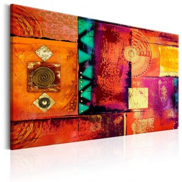 Tableau Abstract Chaos  | cosy-home-design.fr