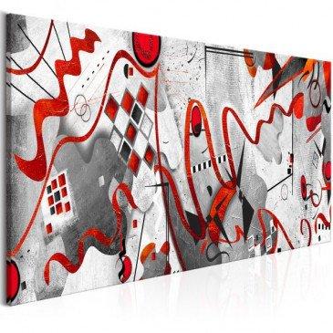Tableau Between Waves (1 Part) Narrow  | cosy-home-design.fr