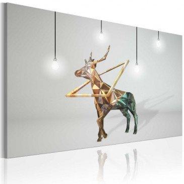 Tableau Cerf d'or  | cosy-home-design.fr