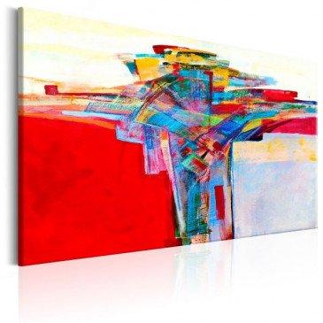 Tableau Colourful Border  | cosy-home-design.fr