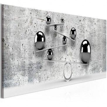 Tableau Balls and Concrete (1 Part) Narrow  | cosy-home-design.fr