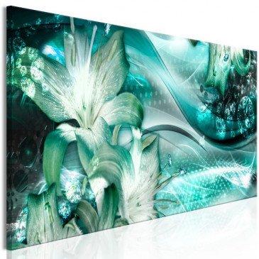Tableau Emerald Dream (1 Part) Narrow  | cosy-home-design.fr