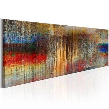 Tableau Colourful Rainstorm  | cosy-home-design.fr