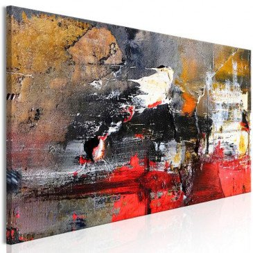Tableau Fiery Rush (1 Part) Narrow  | cosy-home-design.fr