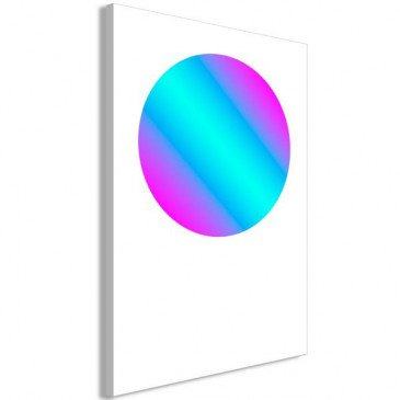 Tableau Circle Gradient (1 Part) Vertical  | cosy-home-design.fr
