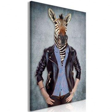 Tableau Zebra Ewa (1 Part) Vertical  | cosy-home-design.fr