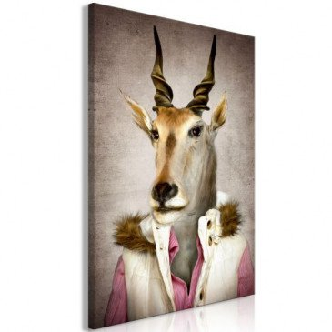 Tableau Antelope Jessica (1 Part) Vertical  | cosy-home-design.fr
